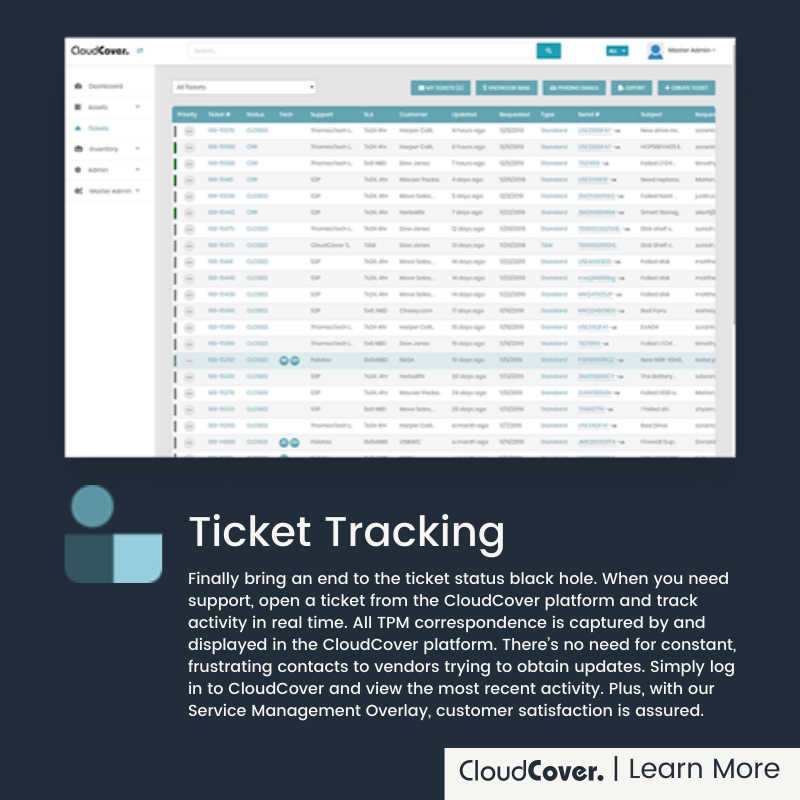 Ticket and Incident Management